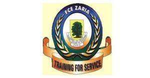 FCE Zaria Pre NCE Admission List