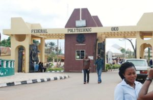Federal Polytechnic oko post utme form