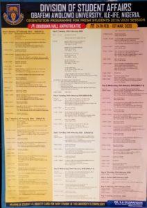 OAU Orientation Programme